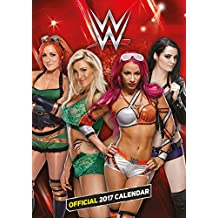 World Wrestling Superstars Divas Official 2017 A3 Calendar