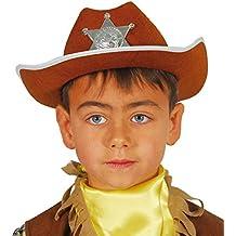 Guirca - Sombrero de vaquero sheriff de fieltro afbbd2b0704