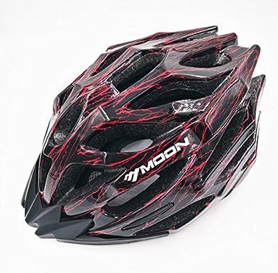 BroLoyalty Moon MV27 ROAD/Mountain Bike Helmet Adult Skate Bicycle Helmet, Large Size 58-61cm for Men & Women by Moon