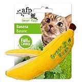 All for Paws Juguetes para Gatos Green Rush Catnip, Banana, 16 cm
