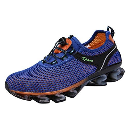 Chaussures de Sports Homme CIELLTE Sneakers Chaussures de Course Baskets Fermeture Lacets Chaussures de Randonnée Solides Athlétique Entraînement