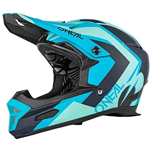 O\'Neal Fury Hybrid RL DH Fahrrad Helm türkis blau/schwarz 2019 Oneal: Größe: M (57-58cm)