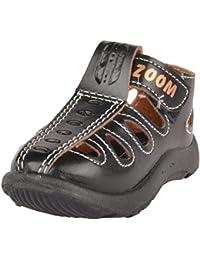 Zoom Boys' Black Outdoor Sandals - 10 UK
