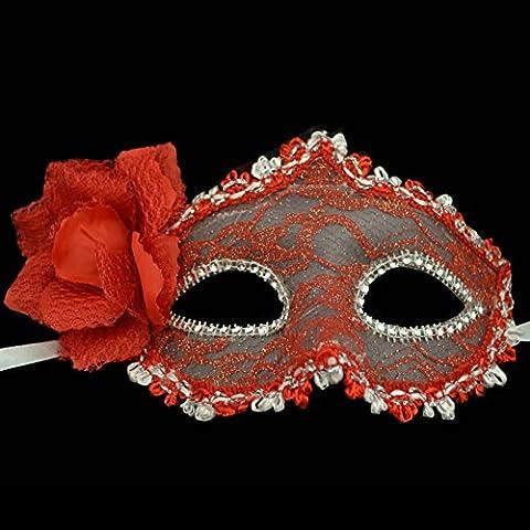 SLG Maschera di Halloween/Metà gusto viso pizzo/Ms. prestazioni maschera