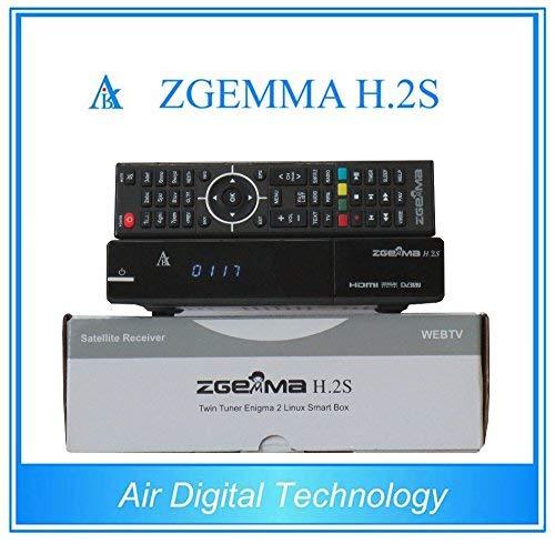 Zgemma H.2S Dual Core Twin Tuner Satellitenempfänger mit EPG und IPTV