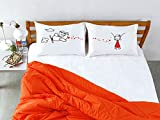 Stoa Paris Air Plane Bed Linen Cotton Do...