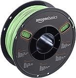 AmazonBasics - PLA 3D-Drucker Filament, 1,75 mm, Neongrün, 1 kg Spule