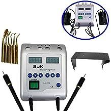 Calentador de cera Waxer eléctrico dental Talla doble Pen Pencil Carver encerado con 6 consejos por