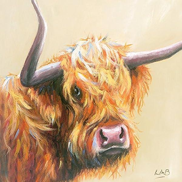 "3.20 x 40.00 x Multi-colour Cotton Louise Brown /""fisticuffs/"" Canvas Print"