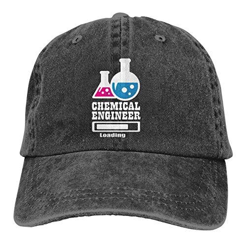 xinfub Chemieingenieur Laden Klassiker Sport gewaschen gefärbt Erwachsene Baseball Cap Outdoor lässig Sonnenhut modische Twill Low Hat Net rot 13208