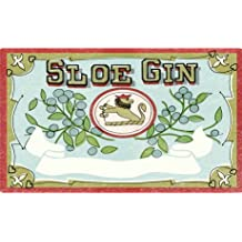 Nutley's 9.6 x 5.1cm Label for Sloe Gin Bottle (Pack of 6)