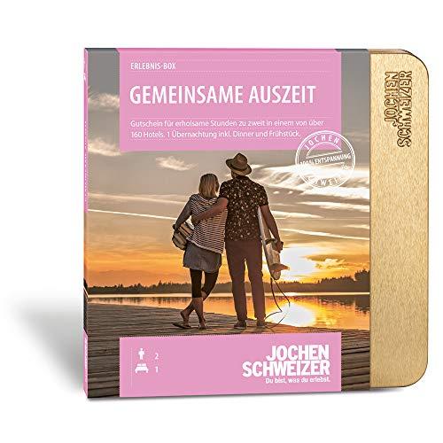 """Jochen Schweizer Erlebnis-Box Hotelgutschein 'Gemeinsame Auszeit für 2"""" inklusive..."""