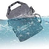 Colisal 3L Wasserdicht Tasche aus TPU Dry Bag Trokenbeutel Bauchtasche Handtasche Umhängtasche Schultertasche Wasserdichte Trokenbeutel Trokensack für Camping Wassersport
