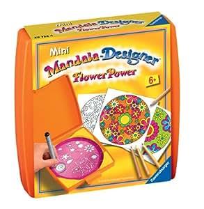 Ravensburger - 29734 - Loisir Créatif - Mini Mandala Designer Classique - Flower Power