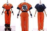 Kawaii-Story S-01 Dragonball Z Son Goku Kame Trainingsanzug Cosplay 6-teilig Kostüm Costume (Gr. L)