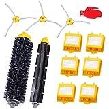 GHB Pack / Kit Cepillos reposición de accesorios para aspiradoras iRobot Roomba Serie 700 -un conjunto de 12