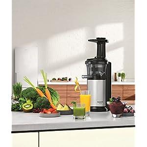 Panasonic Slow Juicer Sistema di Estrazione, Senza Lame, Accessorio Ricette di Frutta Ghiacciata - 2020 -