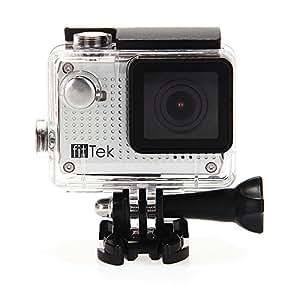 fitTek Youth S30W caméra sport avec écran LCD WIFI 1080P 30m HDMI étanche