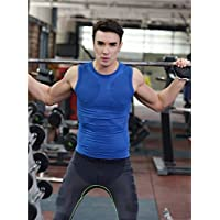 NBX Body de Secado rápido para Hombres Body Ligero de plástico cómodo,Azul,M
