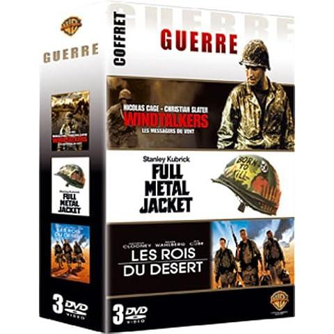 Guerre- Coffret - Windtalkers (Les messagers du vent) + Full Metal Jacket + Les Rois du désert