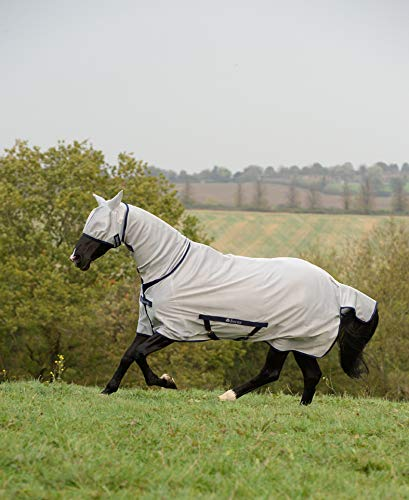 Bucas Freedom Fly Sheet Full Neck - Silver, Größe:145
