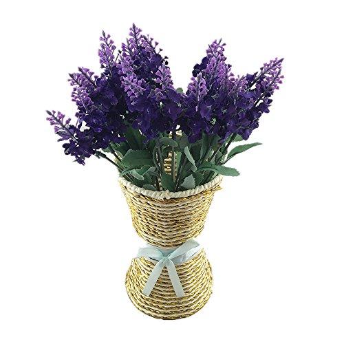 Kunstblumen Kunstpflanz 2 Sträuße verschiedene Design ideal als Deko/DIY/Hochzeit/Party/Büro/Zuhause