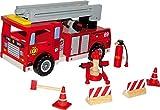 Feuerwehrwagen mit Zubehör - Verkauf pro Stück