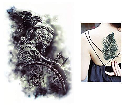Temporäre Tattoos Temporary Tattoo Fake Tattoo -KRIEGER-