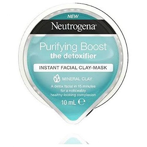 Neutrogena Purifying Boost Express Facial Clay Mask 10ml -