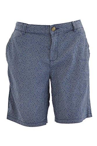ex Esprit Ladies Navy Blue Floral Ditsy Print Shorts