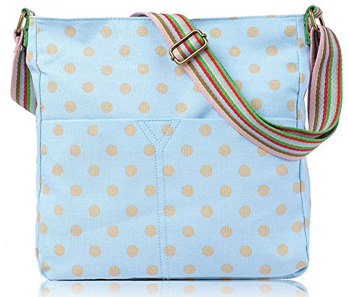 YourDezire, Borsa a tracolla donna Medium Light Blue