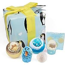 Bomb Cosmetics pingüino partido hecho a mano regalo pack