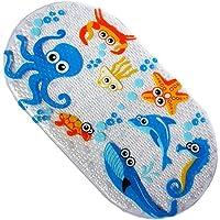 Alfombrilla antideslizante infantil para bañera, de PVC con dibujos animados, 71 x 38cm, vinilo, Octopus, 69x 38CM