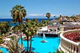 lunaprint Tenerife Island Resort Spain Europe Home Decor Art Wall Poster 50 X 33 cm