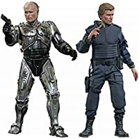 Hot Toys 1:6 Scale Battle Damaged Robocop and Alex Murphy Figure Set