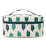 Lfives-bag Custodia per Trucco Borsa cosmetica Portatile per Il Trucco di Bellezza per Il Viaggio per i Tipi di Piccole Cose di stoccaggio con Cerniera Storage Beauty Box