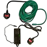 Elixir Gardens ® Soil Warming Cables Heating Mats Thermostat Heated Beds Propagator