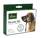 Hunter Ausbildungs-Hundegeschirr Follow Me, L, schwarz, Nylon
