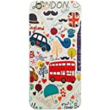NOVAGO Elegante funda - gel de silicona irrompible - para iPhone 5 / 5S (LONDRES)