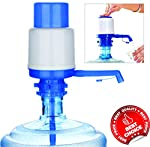 Hand Press Manual Pump is very useful for pumping water from water dispenser. Dispenser water bottles are being used in offices, schools, factory hospitals, camping functions etc. Using the hand pump eases the task to pump the water without leakage o...