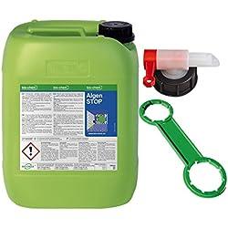 Bio-Chem ALGEN-Stop Algen und Grünbelag Entferner 10 Liter Biologisch