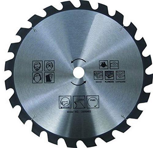 1 HM Kreissägeblatt für Holz und Kunststoff - 24 Zähne - Ø 315 mm x 30 mm / Sägeblatt / Kreissägeblätter