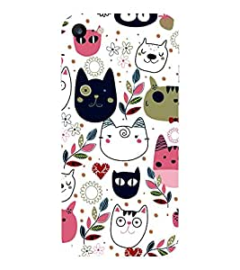 APPLE IPHONE 7 KITTIES PRINTED BACK CASE COVER by SHAIVYA
