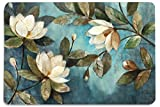 Walls and Murals Floral Painting HD Digital 12x18 Inches Heavy Cotton Dining Table Place Mats(Set of 6)