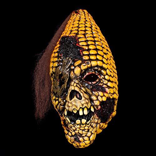 Premium Halloween Maske Latex für Herren| Monster Corn-Zombie | Horror-Maske für Halloween-Kostüm | Verschiedene Charaktere aus Horror- & Fantasy-Film | Karneval Fasching Verkleidung (Verschiedene Zombie Kostüm)