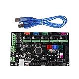 Kingprint 3d imprimante MKS Gen V1.4 carte contrôleur Mega 2560 R3 Carte mère RepRap Ramps1.4 Compatible avec USB