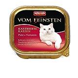 """Animonda Von Feinsten für kastrierte Katzem """"mit Pute & Tomate - 1x 100g Schale"""