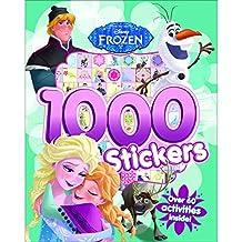Disney Frozen 1000 Stickers Over 60 Activities Inside! - Paperback