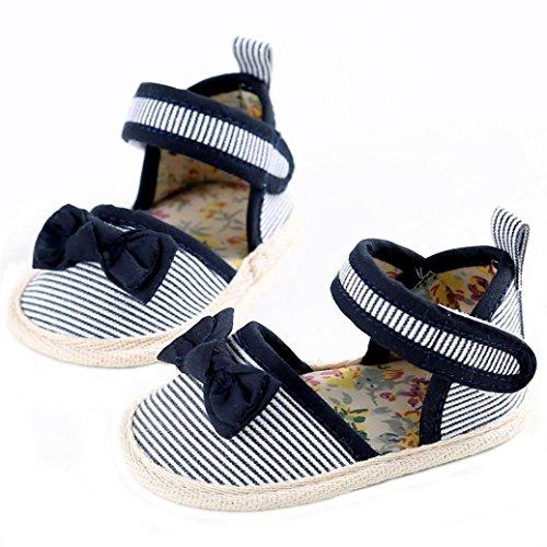 Baby schuhe Jamicy® Baby Säuglings mädchen Krippe Kleinkind Neugeborene Prewalker Schuhe (6~12 Monat, Grün) Schwarz