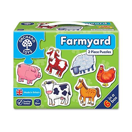 Orchard_Toys - Puzle (2 piezas), diseño de vaca [importado del Reino Unido]